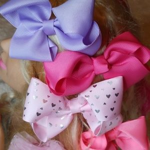 Like New 7 Piece Hairbow Collection 😊💕😊💕